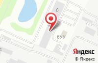 Схема проезда до компании Атака в Нижнем Новгороде