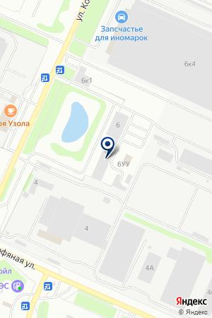 ТФ ПОЖПРОМСЕРВИС на карте Нижнего Новгорода