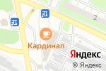 Схема проезда до компании Витязь в Нижнем Новгороде
