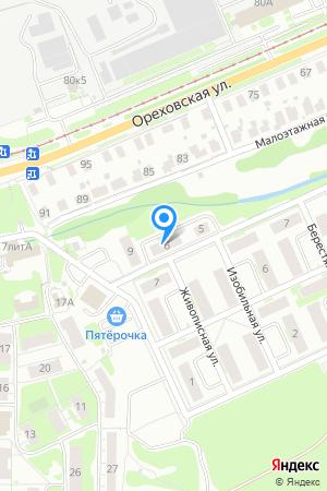 Дом 6 по ул. Живописная на Яндекс.Картах