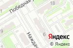Схема проезда до компании На Победной в Нижнем Новгороде