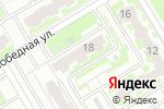 Схема проезда до компании Мастер-Дент в Нижнем Новгороде