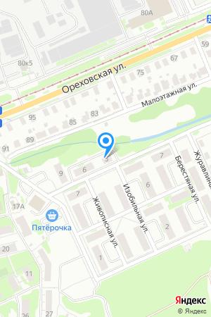 Дом 5 по ул. Изобильная на Яндекс.Картах