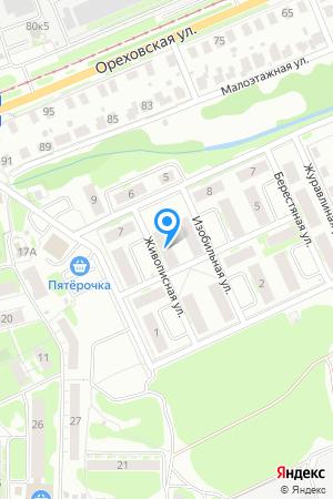 Дом 4 по ул. Живописная на Яндекс.Картах
