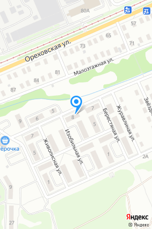Дом 8 по ул. Изобильная на Яндекс.Картах