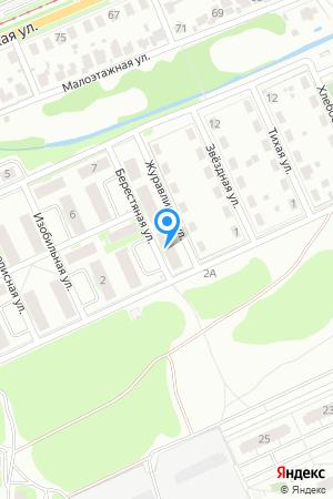 Дом 2 по ул. Берестяная на Яндекс.Картах