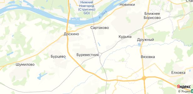Ромашково на карте
