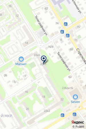 ЖК №352 на карте Нижнего Новгорода