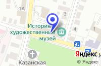 Схема проезда до компании СТАНЦИЯ ЮНЫХ ТЕХНИКОВ в Арзамасе