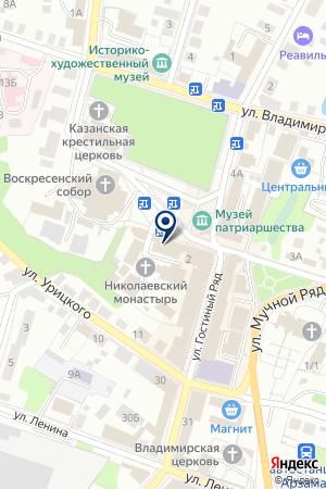 АГЕНТСТВО НЕДВИЖИМОСТИ БУЗИН М. М. на карте Бора