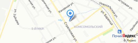 Средняя общеобразовательная школа №31 на карте Нижнего Новгорода