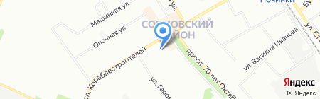 Beauty на карте Нижнего Новгорода