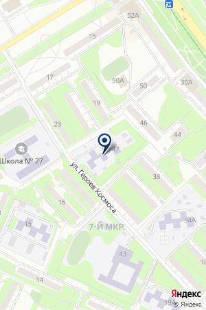 МДОУ СОРМОВСКИЙ РАЙОН ДЕТСКИЙ САД № 394 на карте Нижнего Новгорода
