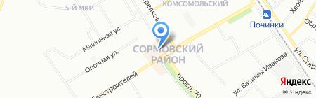 Модный чай на карте Нижнего Новгорода
