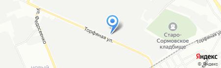 Мастер-профиль на карте Нижнего Новгорода