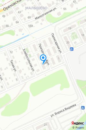 Дом 1 по ул. Праздничная на Яндекс.Картах