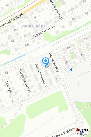 Дом 4 по ул. Праздничная на Яндекс.Картах