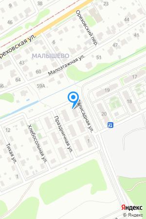 Дом 5 по ул. Палисадная на Яндекс.Картах