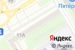Схема проезда до компании Белый Глянец в Нижнем Новгороде