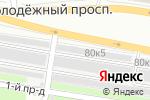 Схема проезда до компании Avtokit52 в Нижнем Новгороде