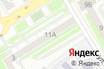 Схема проезда до компании Поволжский садовод в Нижнем Новгороде