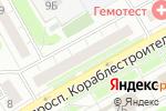 Схема проезда до компании TourPay в Нижнем Новгороде