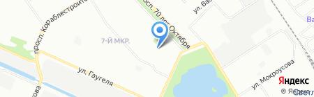 Хлебушко на карте Нижнего Новгорода