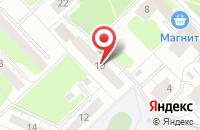 Схема проезда до компании Колорит в Нижнем Новгороде