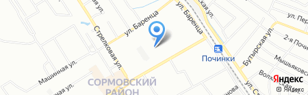 ОПЛАТА.РУ на карте Нижнего Новгорода