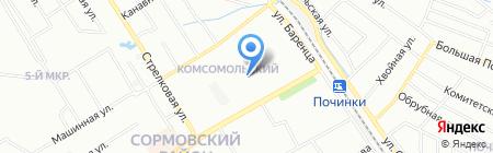 Детский сад №382 Кораблик на карте Нижнего Новгорода