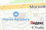 Схема проезда до компании Автомобили Востока в Нижнем Новгороде