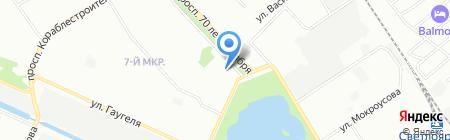 Дентал-Практик на карте Нижнего Новгорода