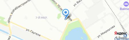 ГАЗ детали машин на карте Нижнего Новгорода