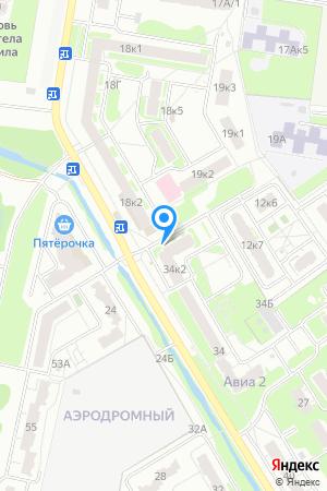 Дом 85стр. по ул. Мончегорской, ЖК Авиа на Яндекс.Картах