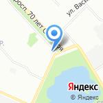Для тебя на карте Нижнего Новгорода