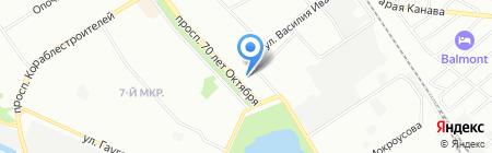 Здоровые люди Нижний Новгород на карте Нижнего Новгорода
