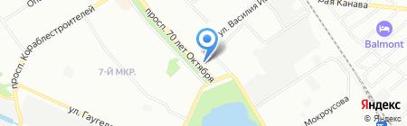 У привоза на карте Нижнего Новгорода