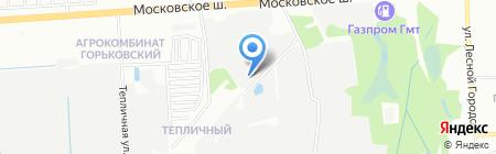АРМА на карте Нижнего Новгорода