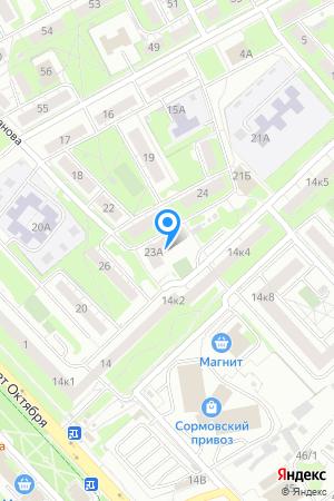 Дом 23А на ул. Иванова, ЖК Дом на Иванова на Яндекс.Картах