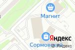 Схема проезда до компании Багира в Нижнем Новгороде