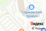 Схема проезда до компании Магазин ювелирных изделий в Нижнем Новгороде