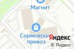 Схема проезда до компании Планета детства в Нижнем Новгороде
