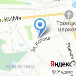 Сауна на карте Нижнего Новгорода