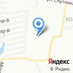 Атлет на карте Нижнего Новгорода