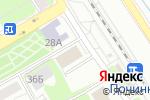 Схема проезда до компании Люкс в Нижнем Новгороде