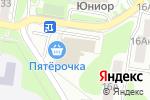 Схема проезда до компании Смешные цены в Нижнем Новгороде