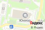 Схема проезда до компании Новое поколение в Нижнем Новгороде