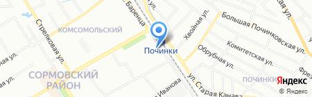 Магазин насосов на карте Нижнего Новгорода