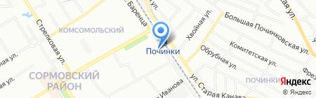 Кристалл-НН на карте Нижнего Новгорода