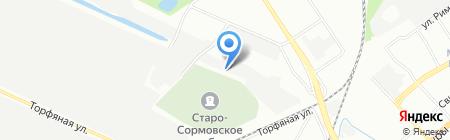 ВолгоВятПром на карте Нижнего Новгорода
